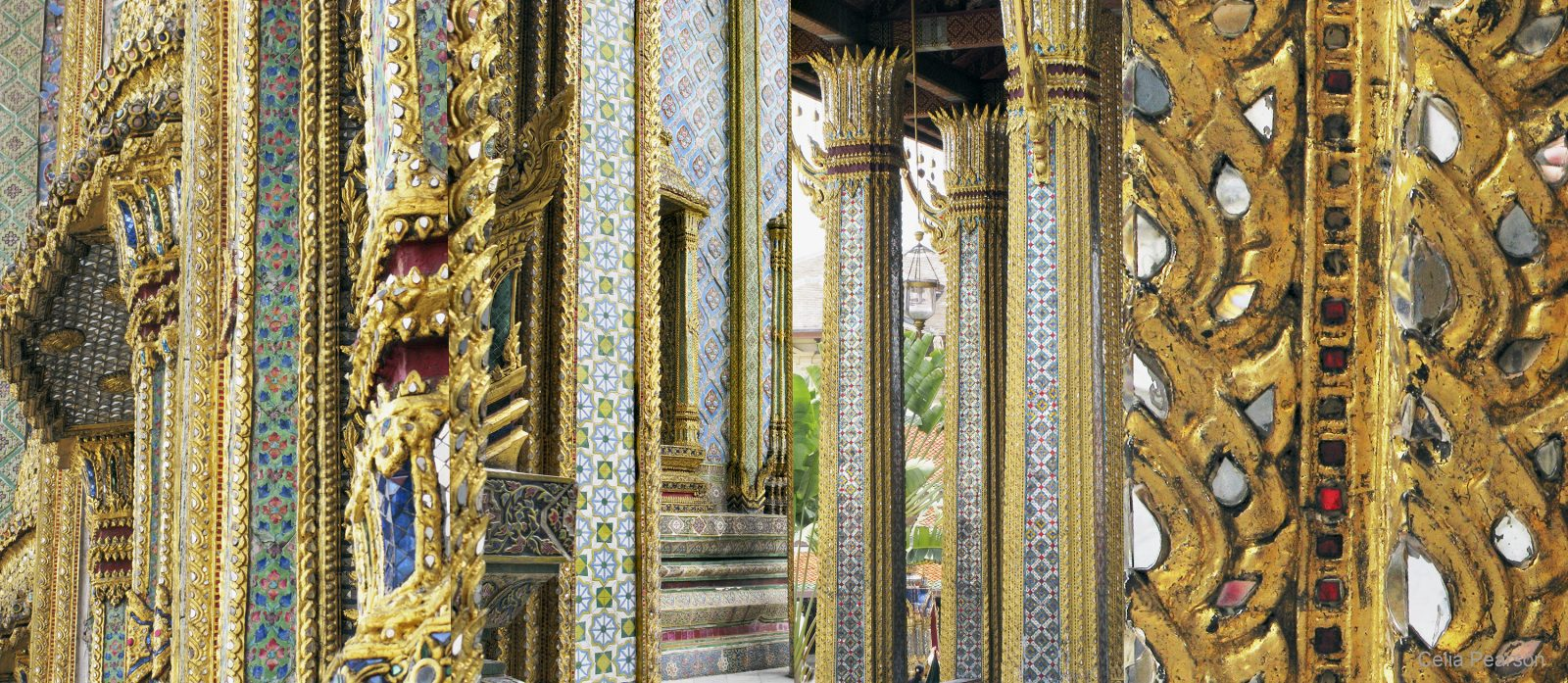 Celia Pearson. Palace (Thailand). 2010. archival inkjet print on cotton rag paper. 15.5 x 35.5