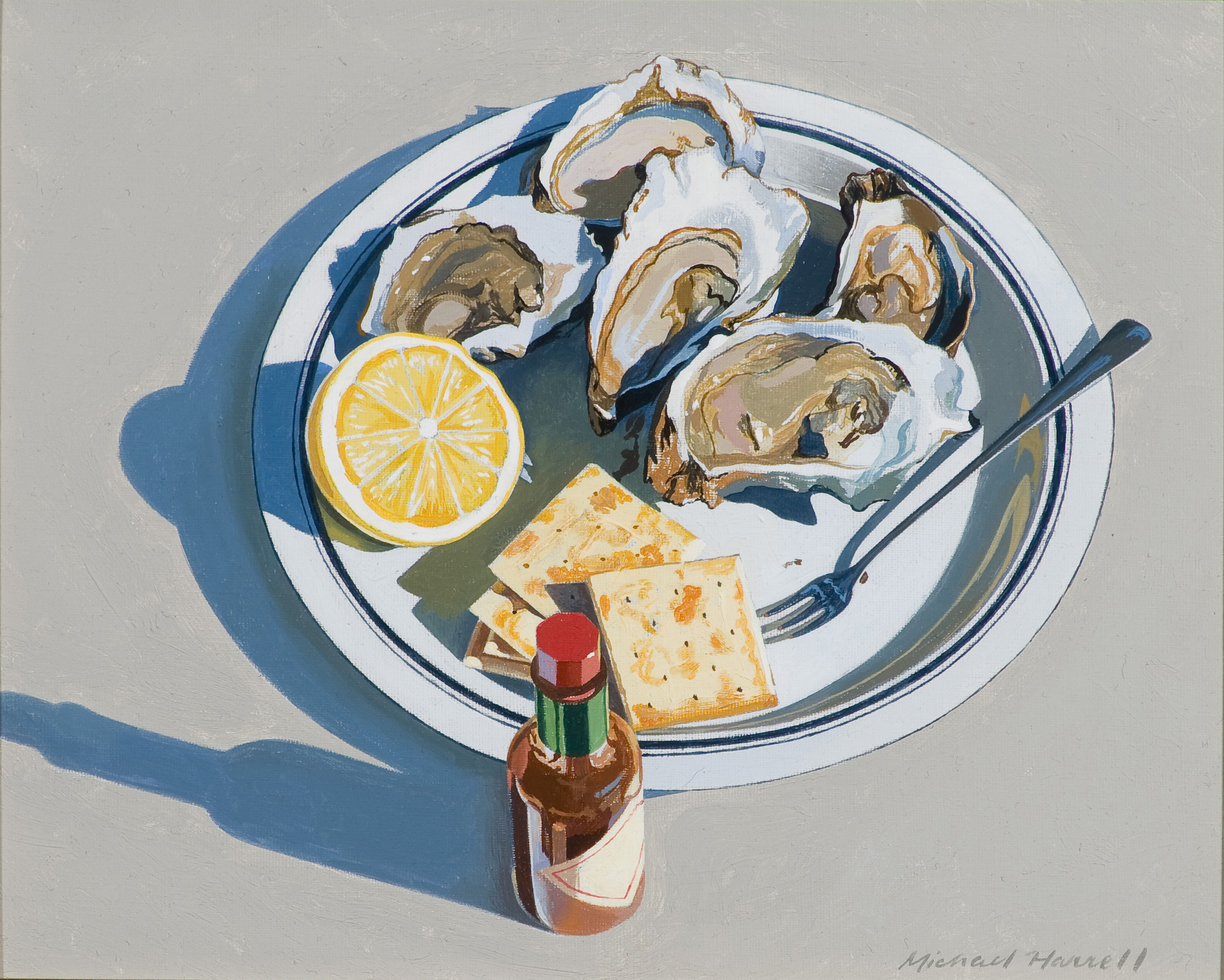 Michael Harrell, Oysters on the Half Shell