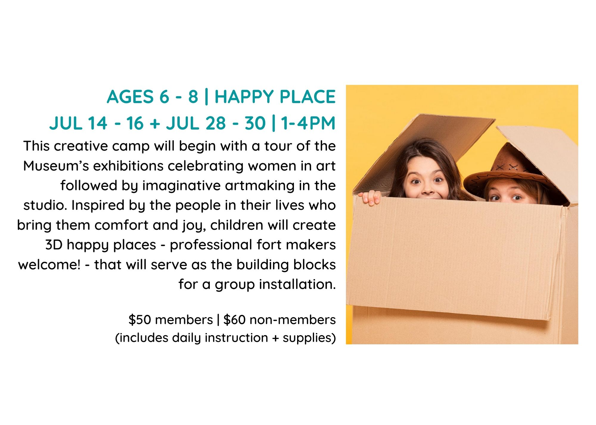Summer Camp Ages 6-8